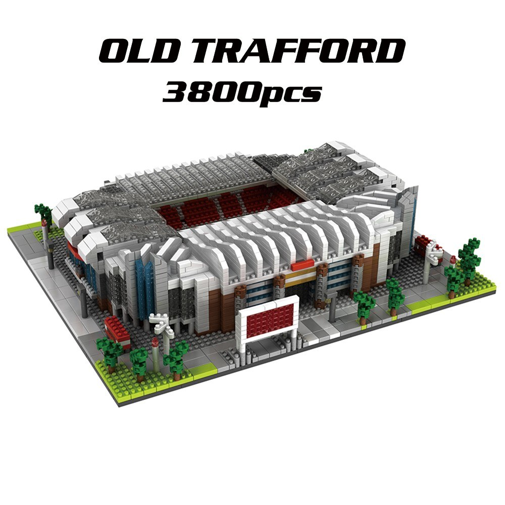 9912-1 Old Trafford Atomic Building Blocks Kit Football Stadium Model 3800pcs Gift Toy for Kids
