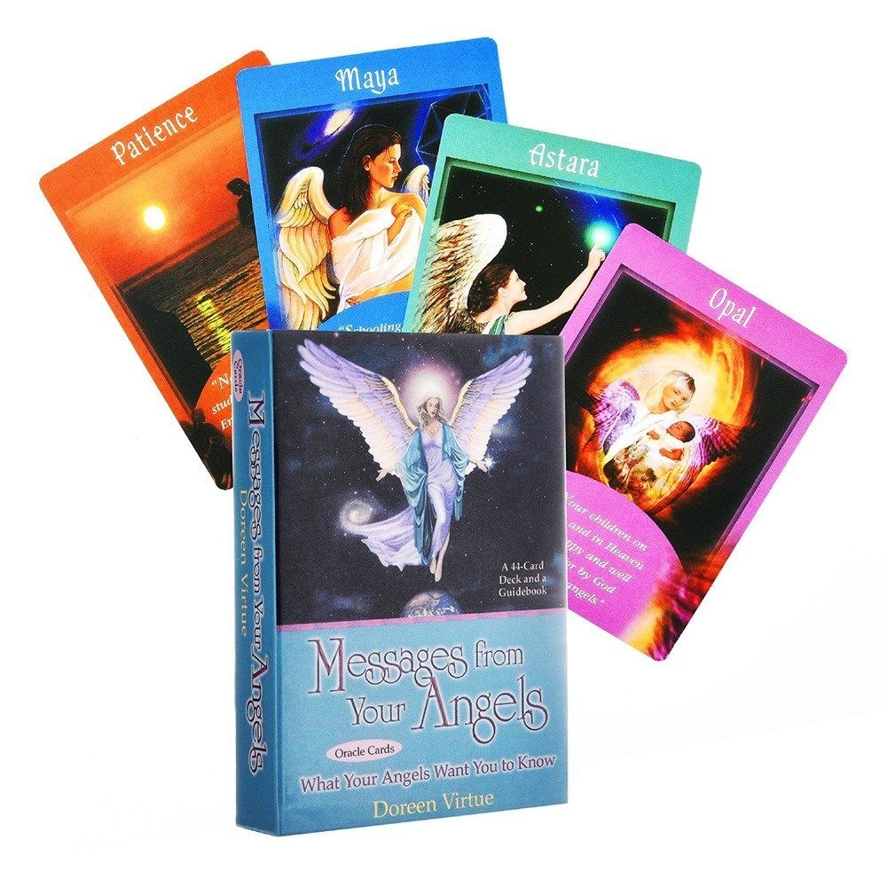Delicate Multicolor Durable Coated Paper Classical Card Game Tarot In English