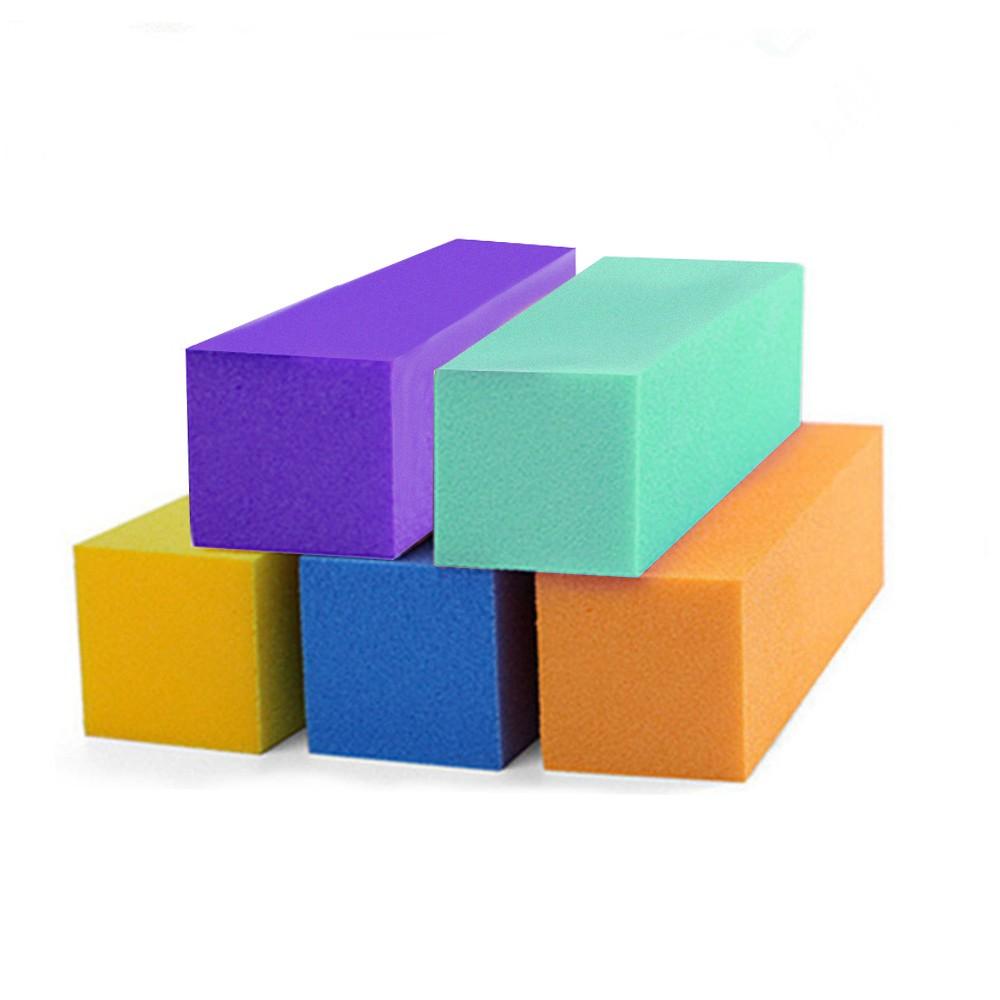 10 Pcs Nail Buffer Block Sanding Sponge Nail Buffers Files Manicure Pedicure Grinding Polishing