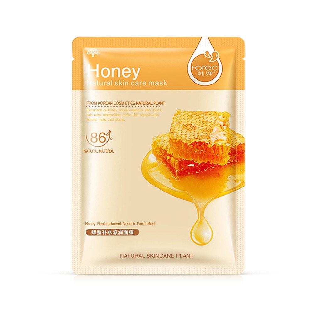 Han Yu Blueberry Hydrating & Warm Mask Combination Aloe Vera Plant Care Moisturizing Mask Honey hydrating nourish 30g