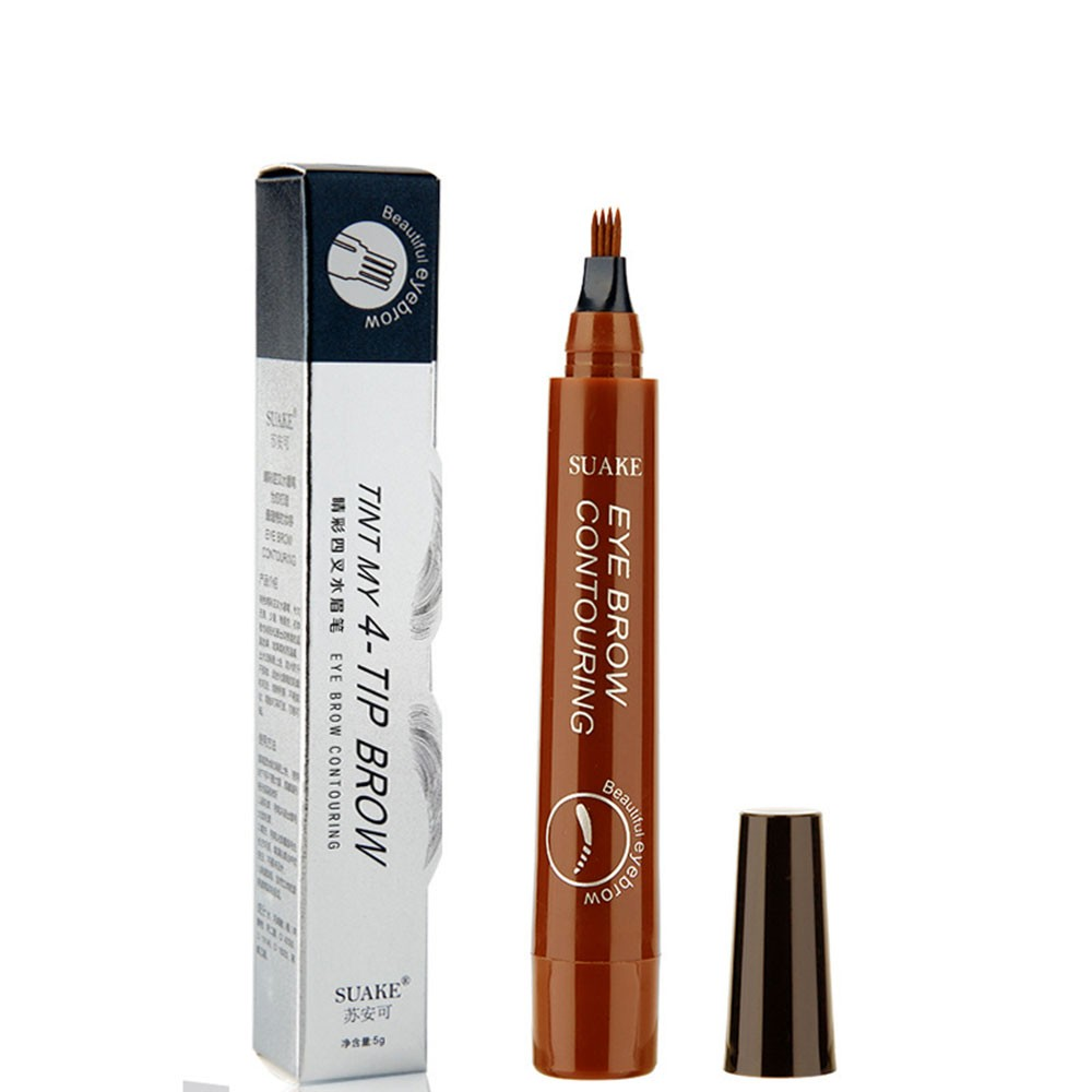 Su Anke SUAKE Radical Four-Way Wild Water Eyebrow Pencil Lastingly Non-staining Waterproof and Sweatproof No. 1 light brown