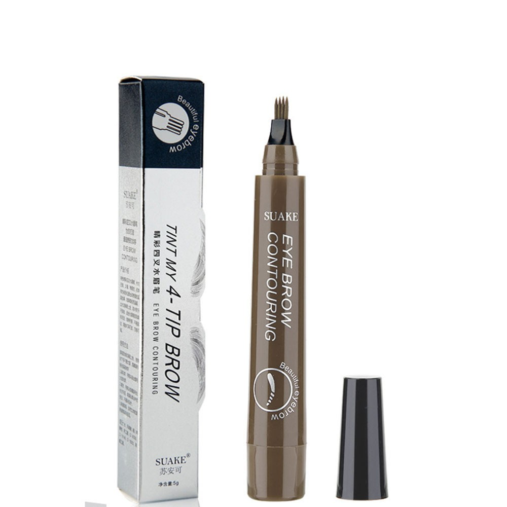 Su Anke SUAKE Radical Four-Way Wild Water Eyebrow Pencil Lastingly Non-staining Waterproof and Sweatproof No. 4 beige