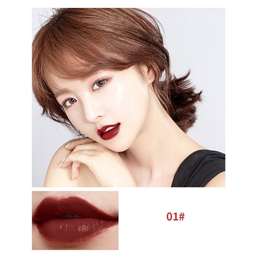 Lip Gloss Lovely Bulb Long-Lasting Waterproof Moisturizing Lip Stick Cosmetic Makeup Tool