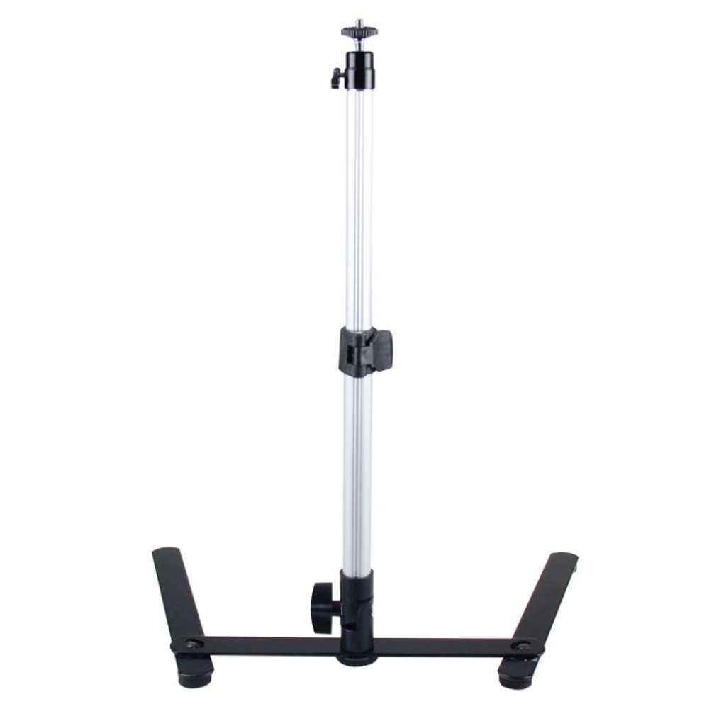 Photography Adjustable Table Stand Set Mini Monopod with Phone Clip Mobile Phone Photography Tool