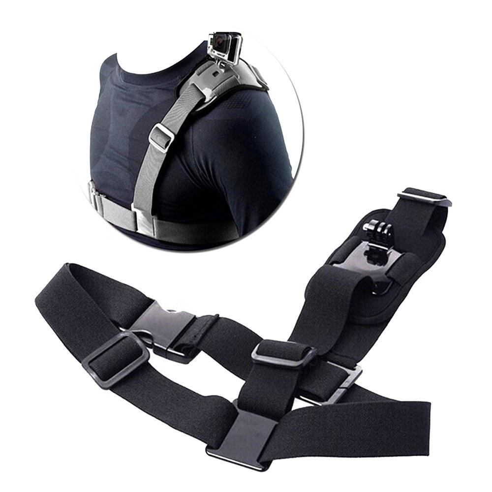 Shoulder Strap for Gopro HD Single Shoulder Strap Mount Chest Harness Belt Adapter for GoPro