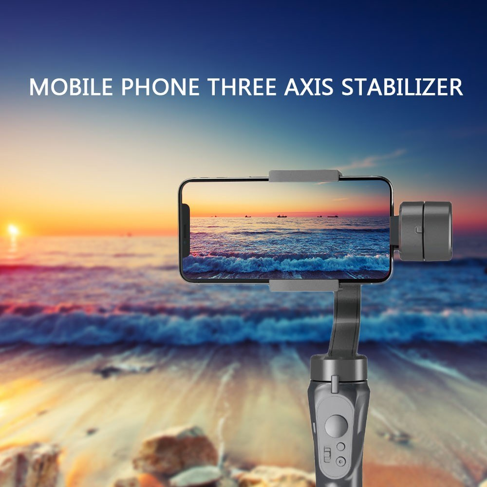 """3-Axis Stabilized Handheld Gimbal Ultra-lightweight Portable Stabilizer for 4~5.5"""" Smartphone Intelligent Phones"""