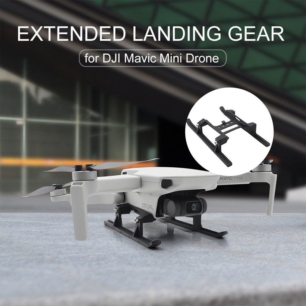 Compatible with DJI Mavic Mini Drone STARTRC Extended Landing Gear Extended Legs Landing Feet Leg Support