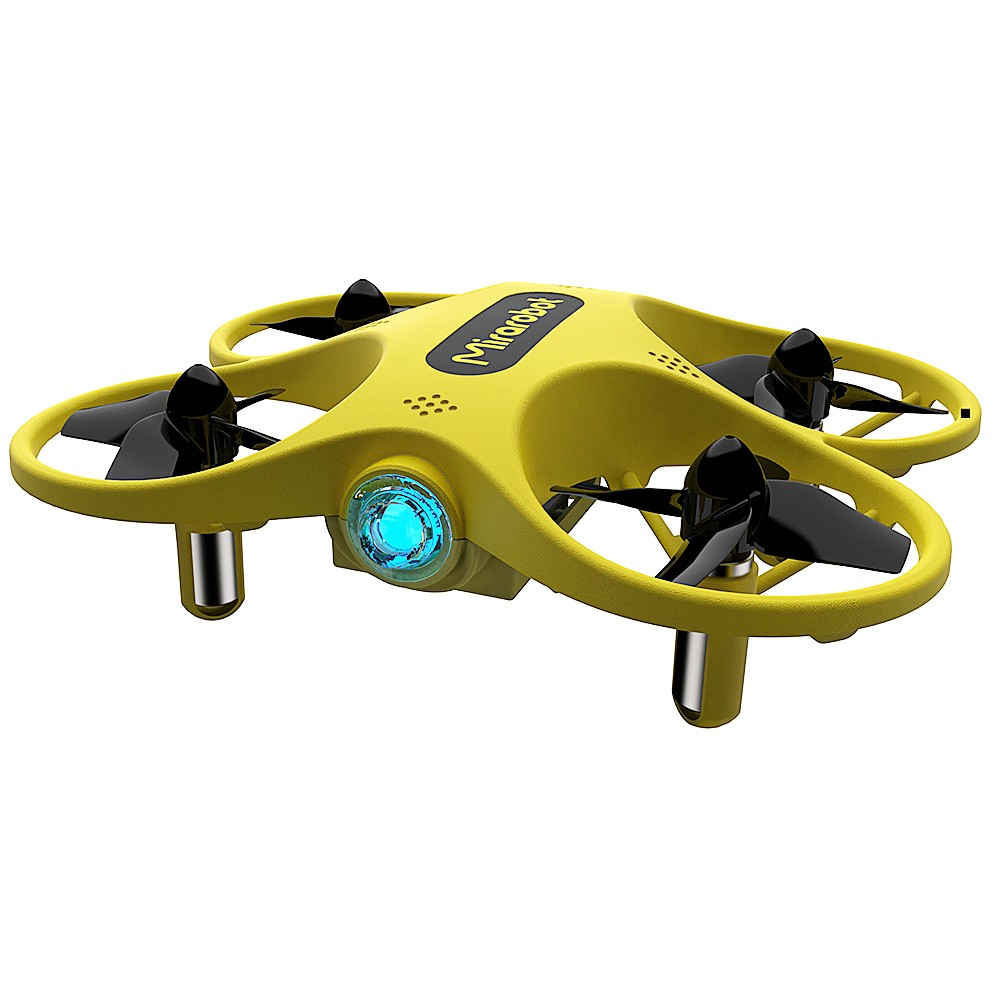Mirarobot 2.4G 4CH S60 LED Tiny Micro RC Drone Quadcopter RTF with 3D Flip LED Light