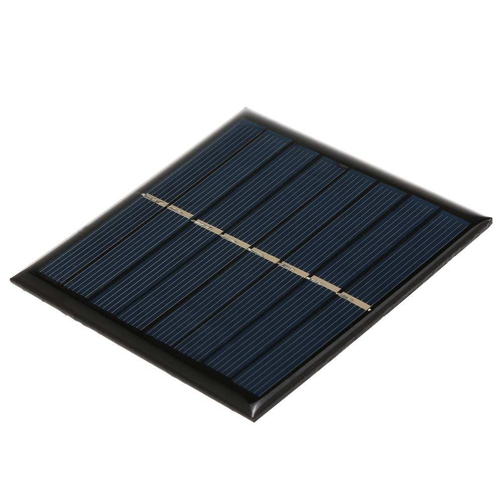 Smart Solar Battery Carger 1W/4V Solar Charger for 2 * 1.2V AAA Rechargeable Battery Polycrystalline Epoxy Solar Panel 90*90mm