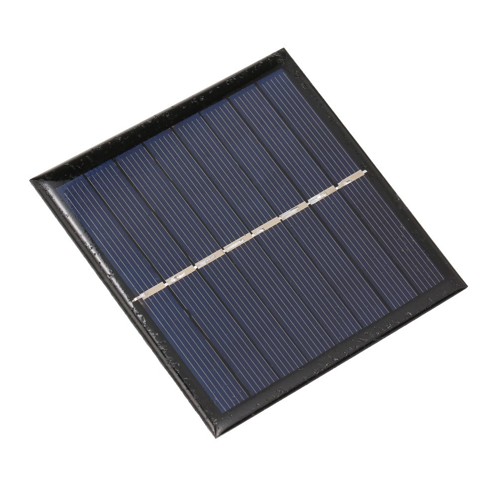 Smart Battery Carger 1W/4V Solar Charger for 1.2V AA Rechargeable Battery Polycrystalline Epoxy Solar Panel