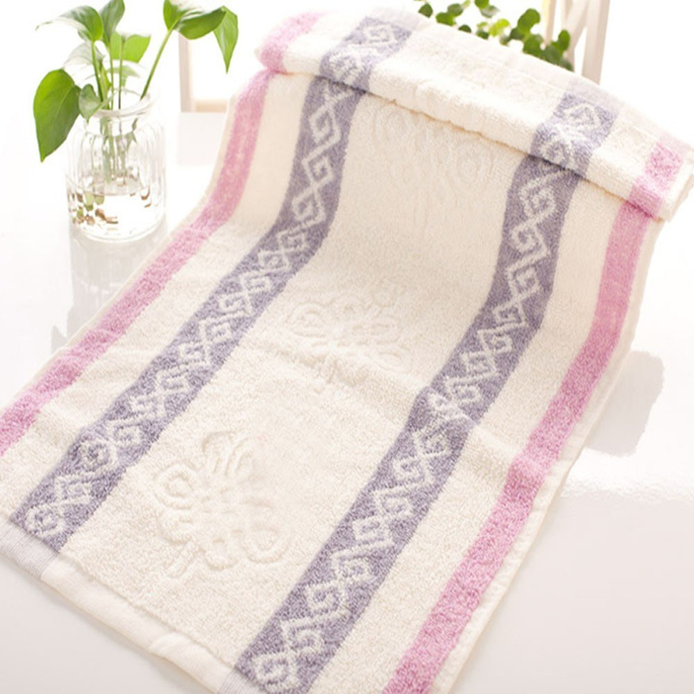 1Pcs Cotton Bath Towels Ultra Soft Highly Absorbent for Bathroom 74*33cm