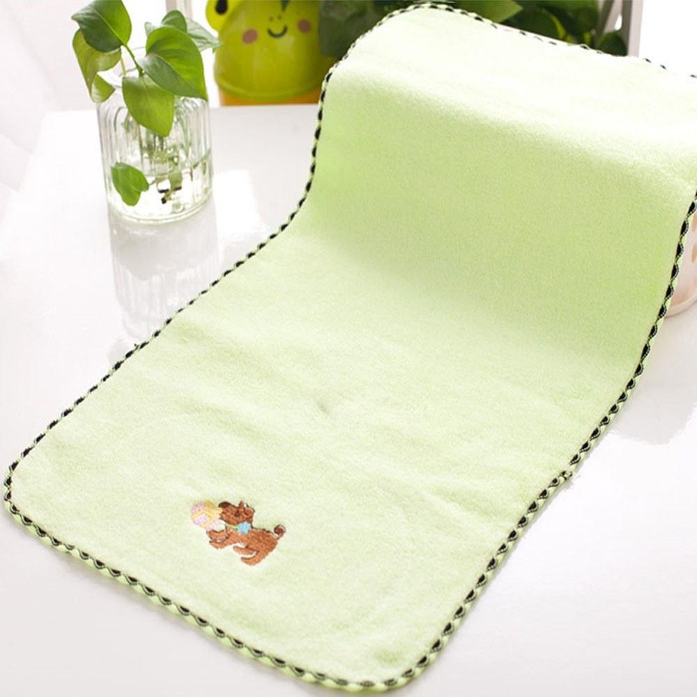 1Pcs Face Towel Cotton Cute Puppy Pattern Comfy Children's Towel 50*28cm