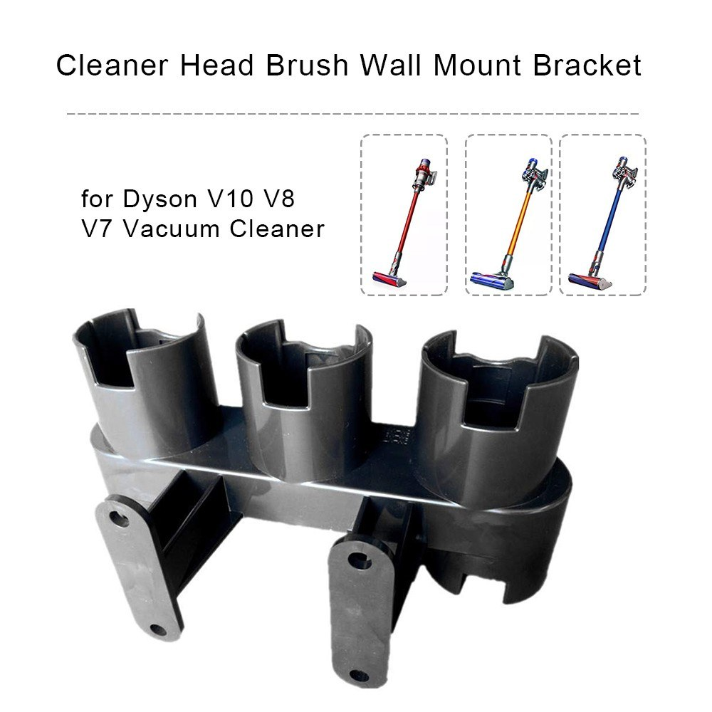 Cleaner Docks Station Accessory Tool Holder for Dyson V10 V8 V7 Vacuum Cleaner Head Brush Wall Mount Bracket