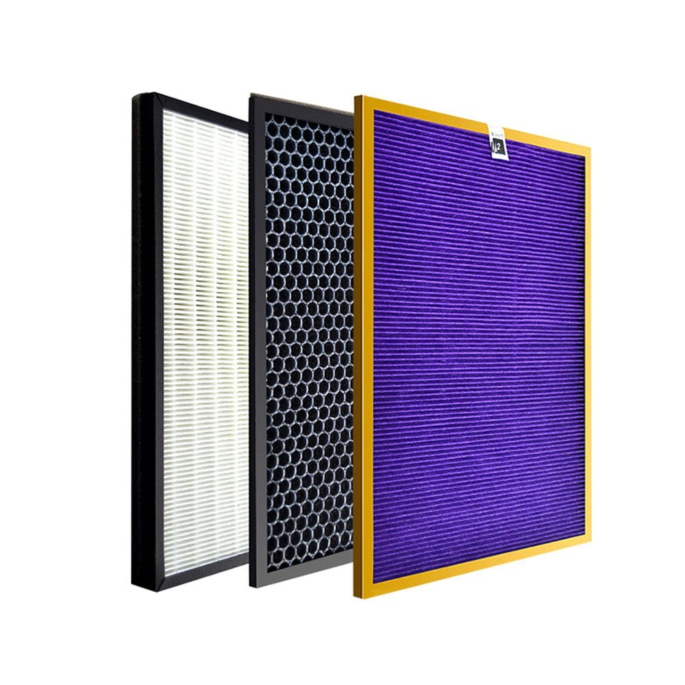 3Pcs 4141+4143+4144 Filters Compatible with Philips Air Purifier AC4072 4074 4083 4084 4085 4086 4014