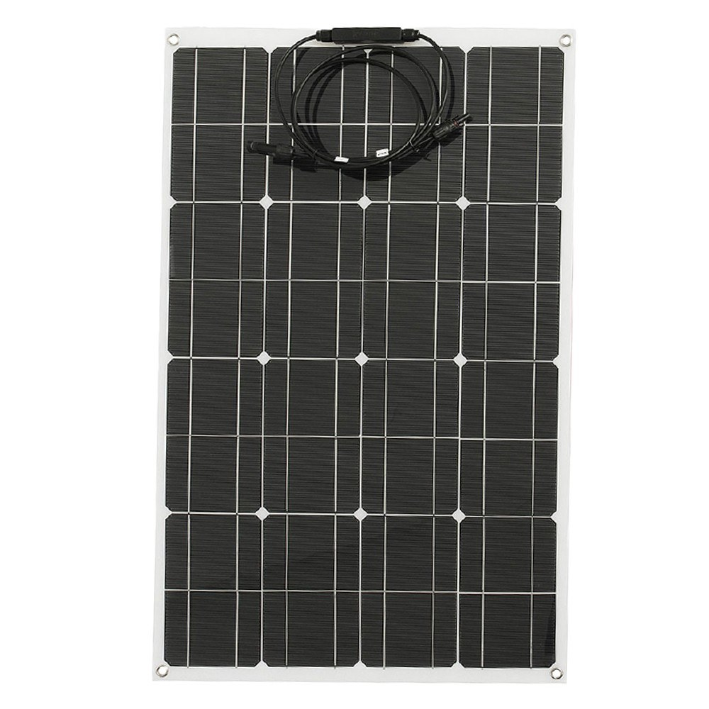 Solar Panel High Efficiency Monocrystalline Silicon Solar Cell DIY Waterproof Power Charger for Battery Charging Camping Car Boat