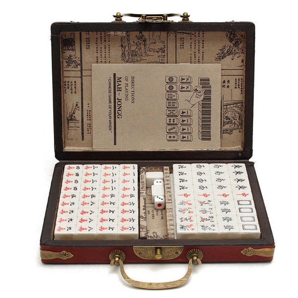 Chinese Numbered Mahjong Set