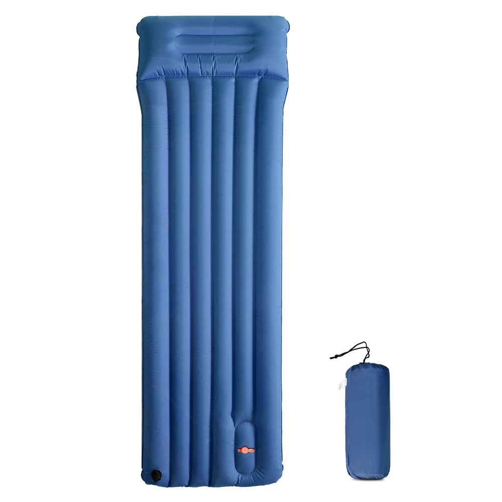 Inflatable Camping Pad Outdoor Quick Inflating Sleeping Pad Hiking Backpacking Picnic Beach Mat Ground Mattress