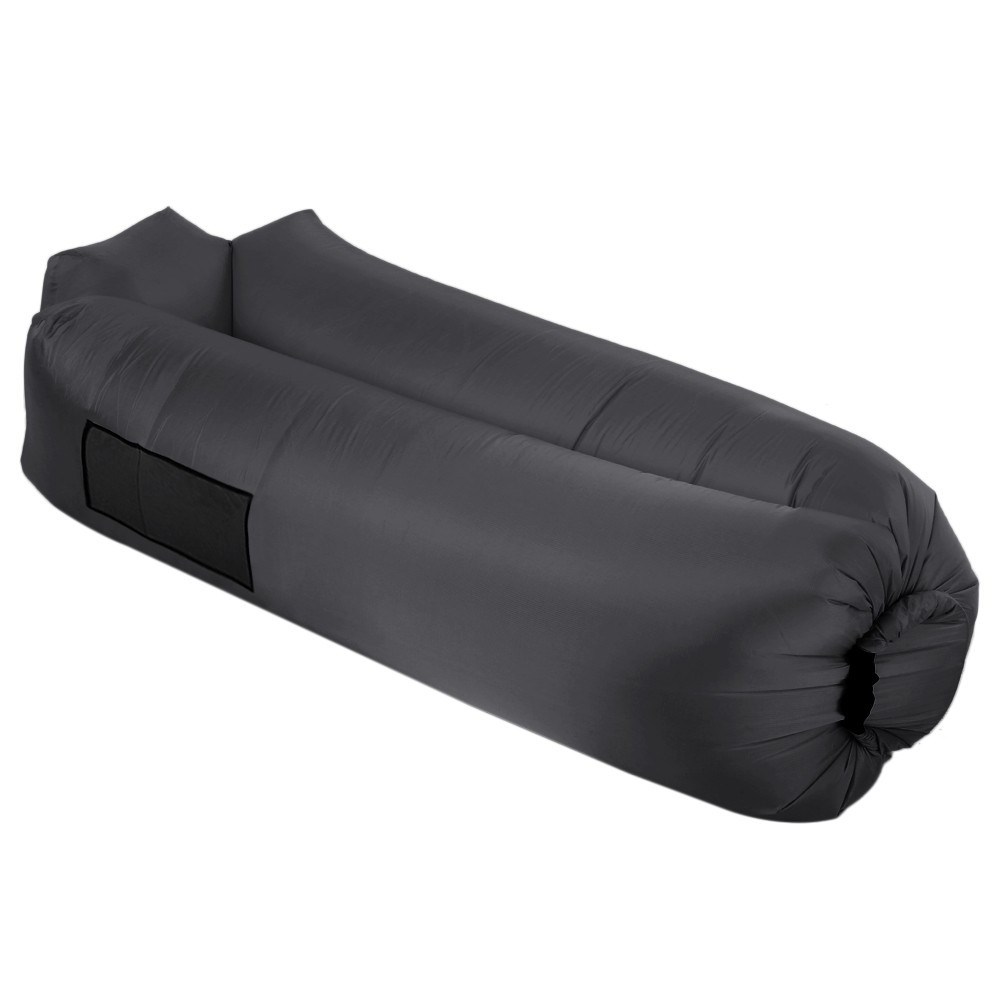 Inflatable Lounge Self-inflating Air Sofa Sleeping Couch Built-in Pillow for Backyard Lakeside Beach Camping Picnic