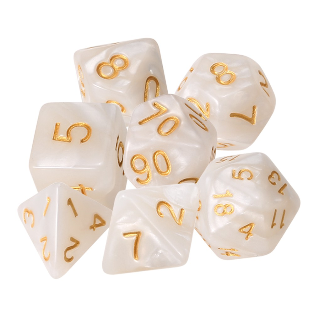 7 PCS Polyhedral Dice