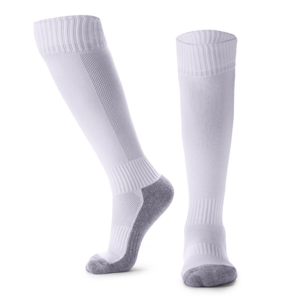 Kid's Breathable Football Socks High Tube Socks Over Knee Sports Socks for  8-14 Boys Girls