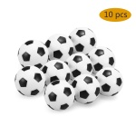 4Pcs / 10Pcs Indoor Table Soccer Balls Replacement 32mm Mini Footballs Foosball Table Football For Kids / Adults