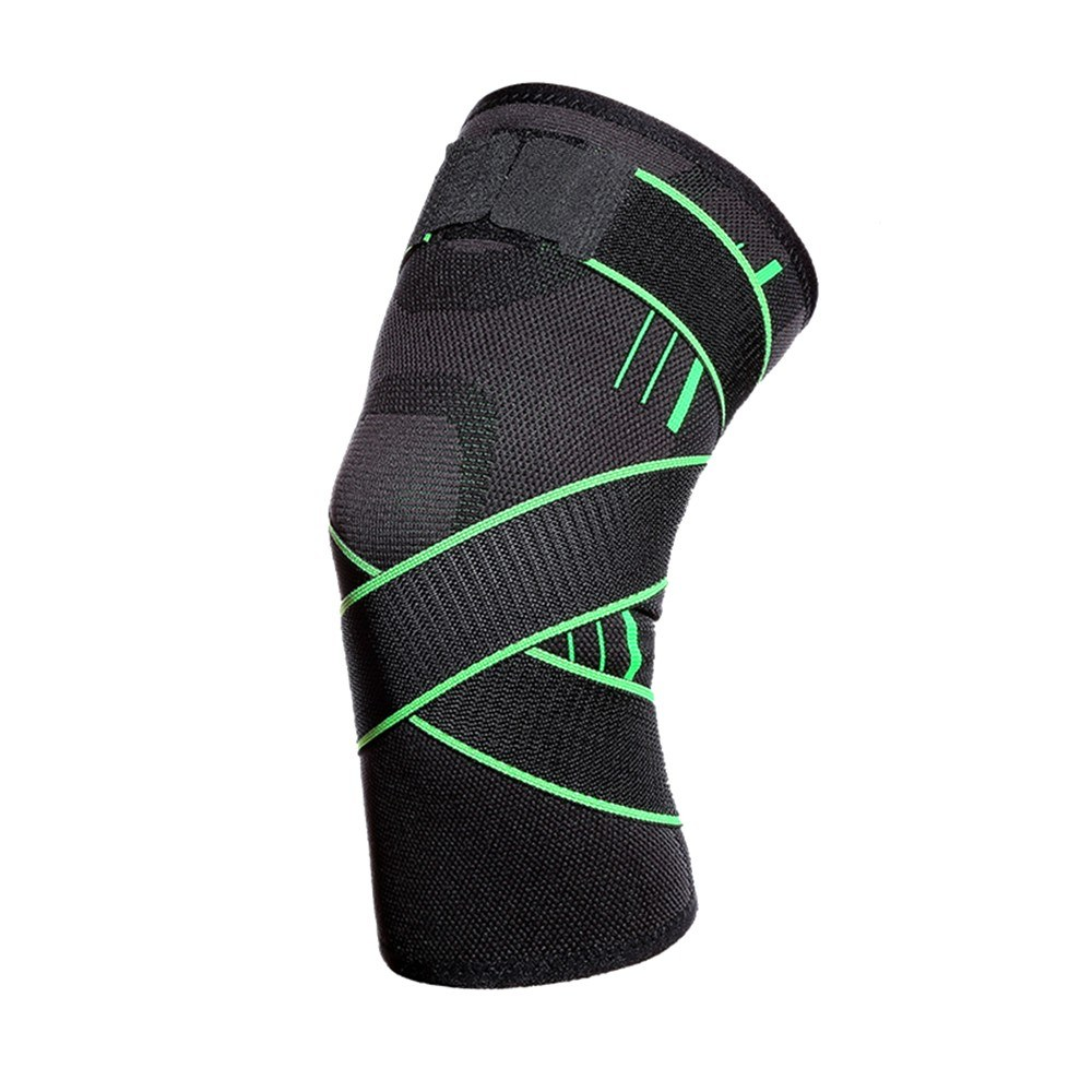Knee Support Professional Protectives Sports Knee Pad Outdoor Running Knee Pads Green M