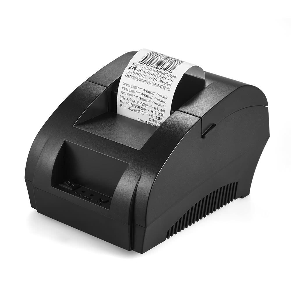 POS-5890K 58mm USB Printer Receipt Bill Ticket POS Cash Drawer Restaurant Retail Printing