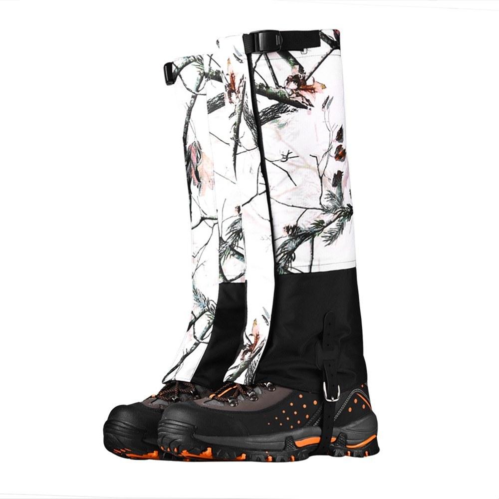 Snow Leg Gaiters Waterproof Leg Cover High Gaiters Boot Gaiters Hiking Camping Climbing