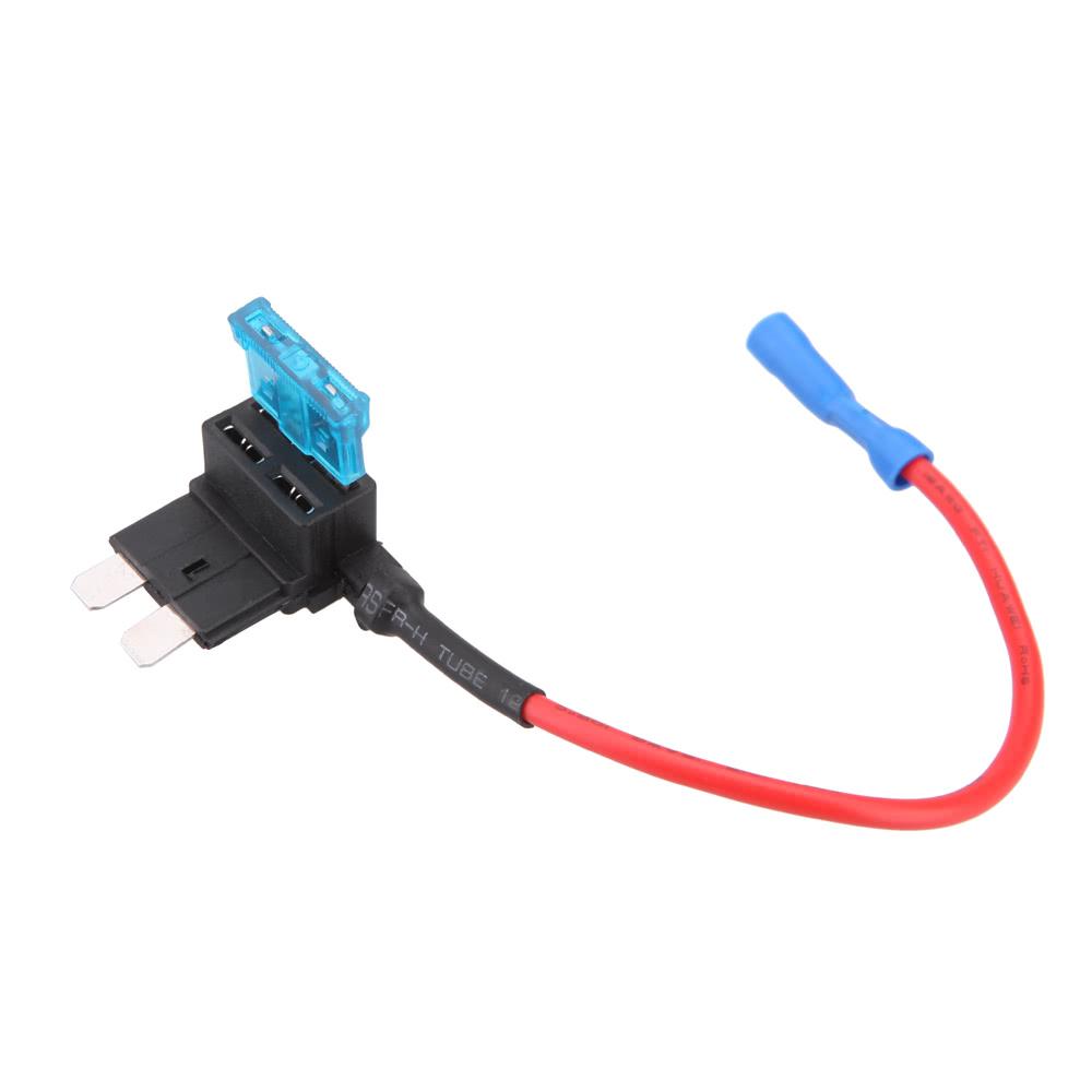 A Circuit Fuse Tap Piggy-Back Standard Blade Fuse Holder ATO ATC 12v