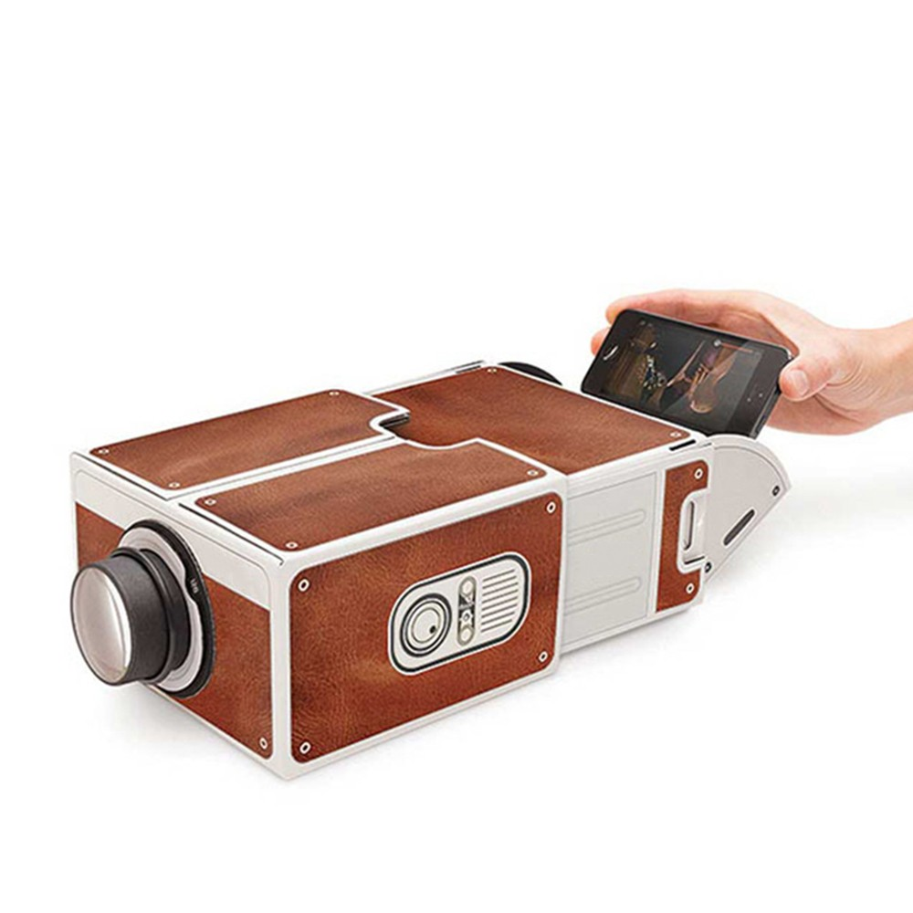 Portable Mini Smart Phone Projector Cinema Home Use