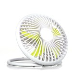 Quiet USB Desk Fun  Personal Mini Fan 180 Degree Rotation