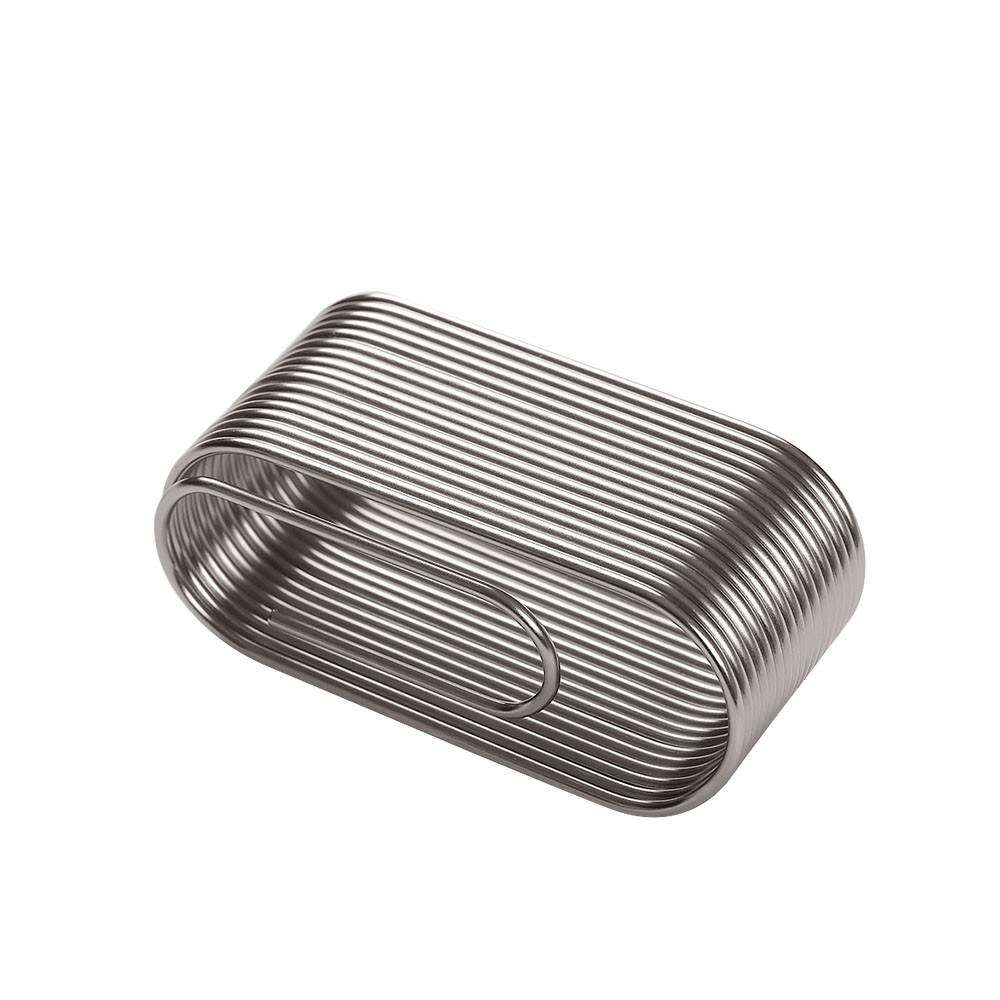 Creative Hollow Card Holder Electroplating All-metal Table Place Card Holders Clip Molding