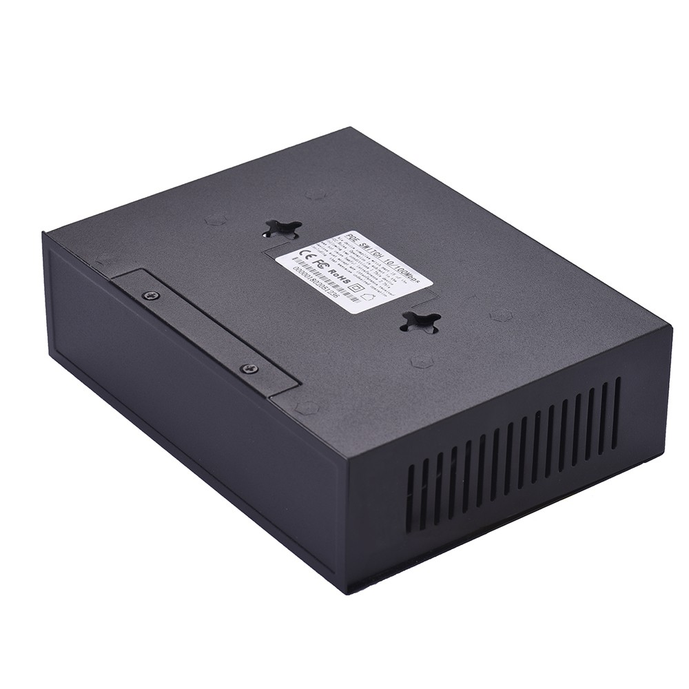 NF1006 POE Switch 4 Ethernet Port 2 Uplink Ethernet Port 1.6Gbps IEEE 802.3at Power Over Ethernet 10/100Mbps Switch Power Adapter