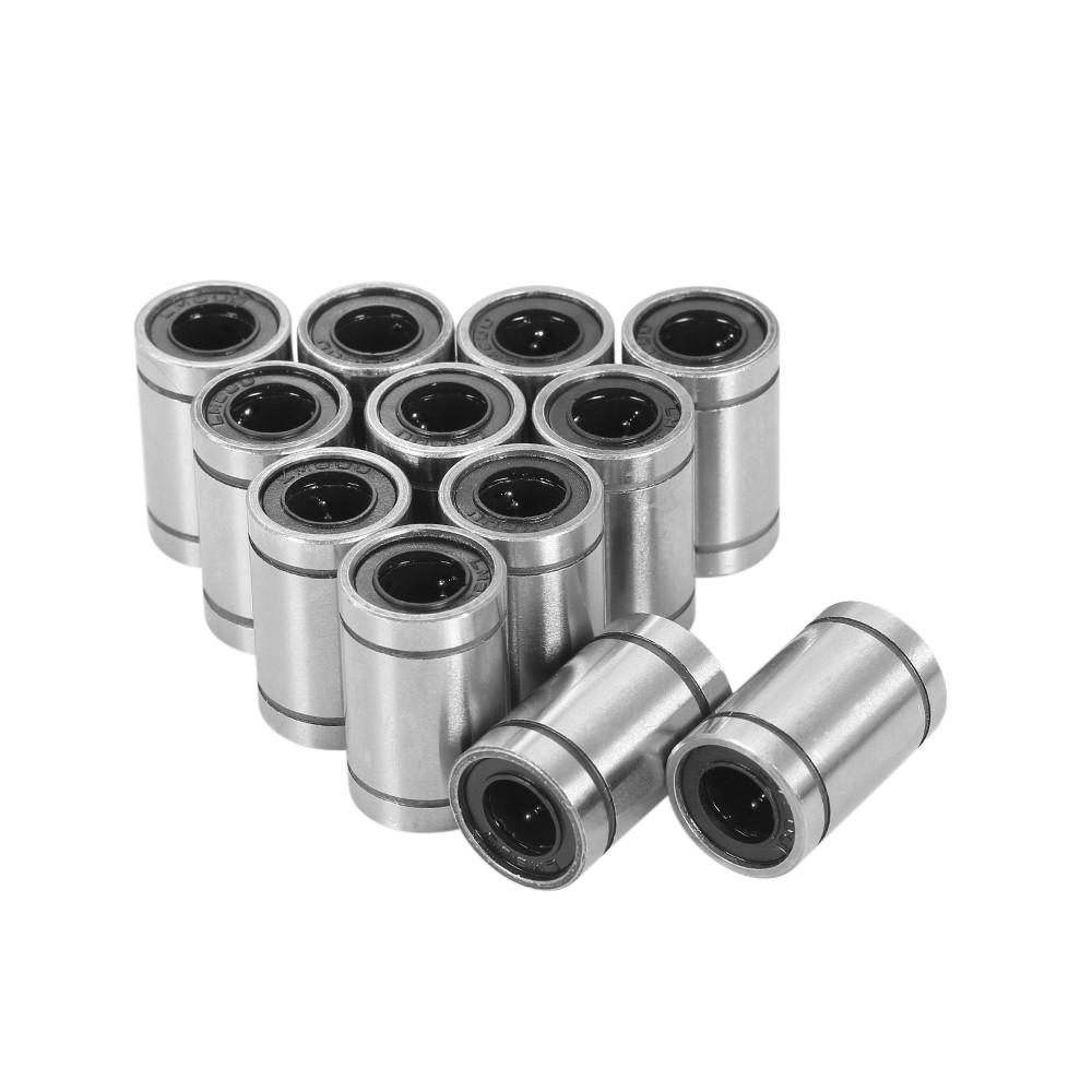 12pcs LM8UU Linear Ball Bearings for 8mm RepRap Prusa 3D Printer Tool DIY CNC Motion 8*15*24mm