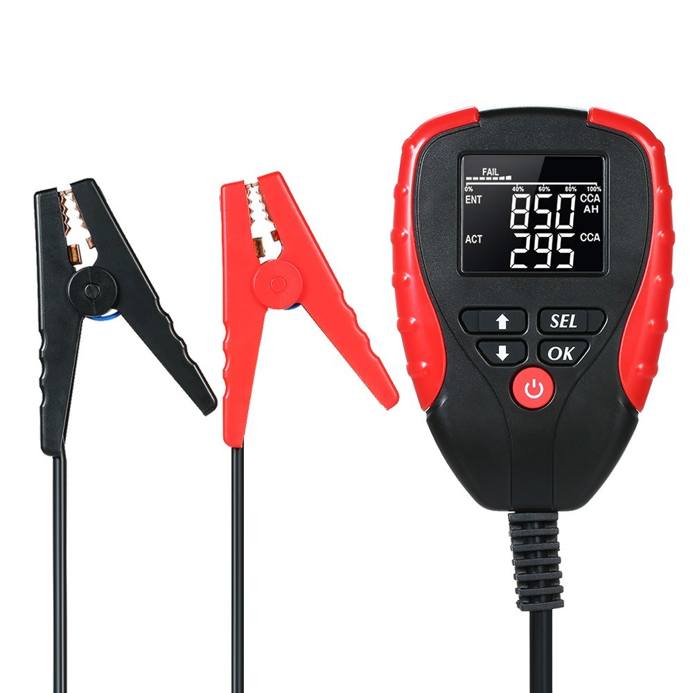 AE310 Digital 12V Car Battery Tester Automotive Battery Load Tester and Analyzer