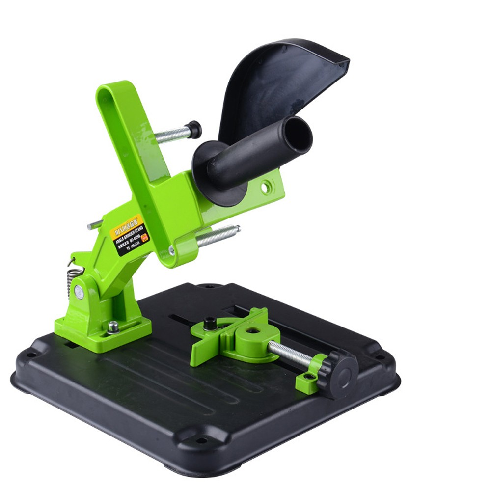 Multifunctional Metalworking DIY Aluminum Bracket Iron Base Angle Grinder Holder Support For Cutting Machine Angle Grinder Stand BG-6125B