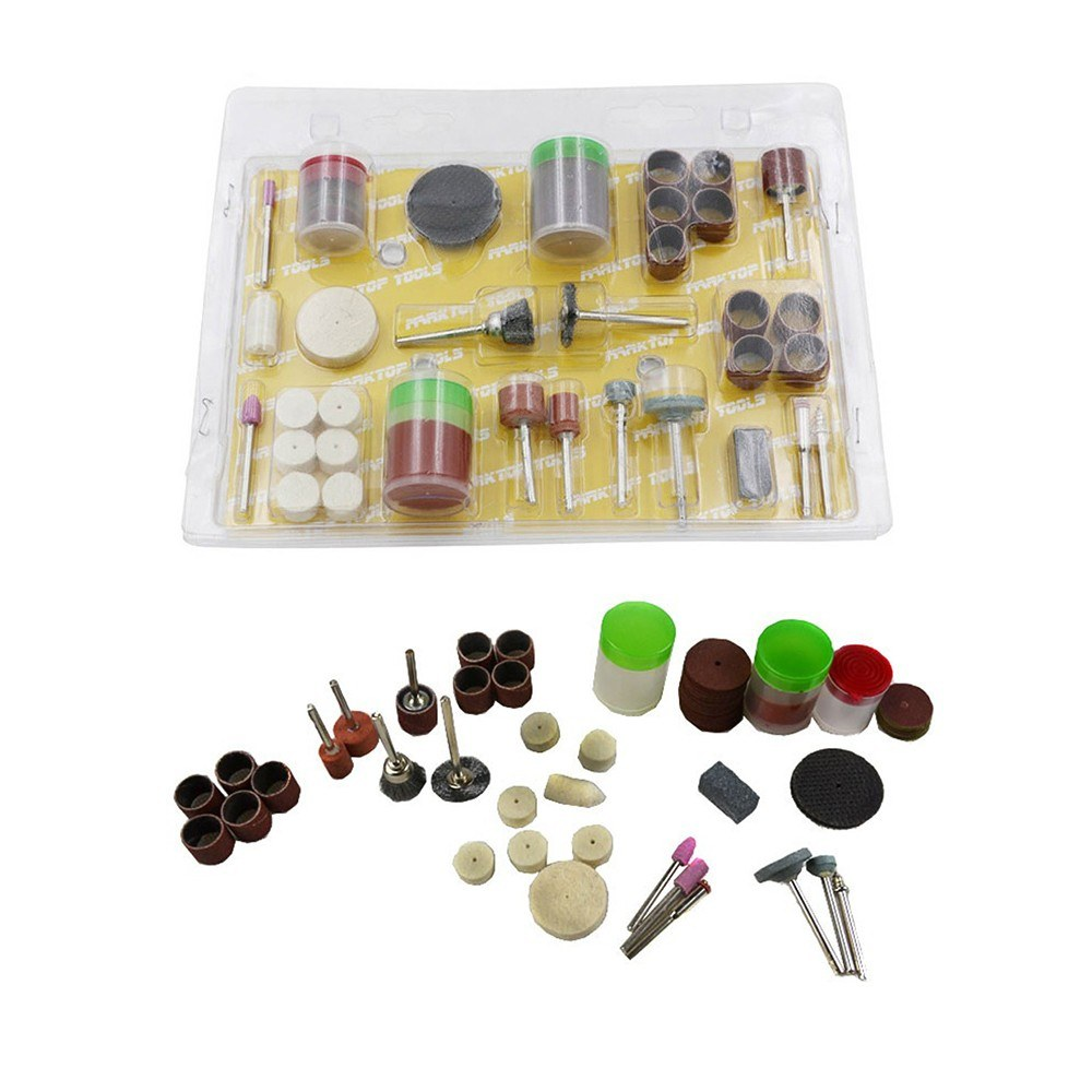 105pcs Grinding Polishing Tool Set 1/8-Inch Shank Electric Grinder Accessories Grinding Cutting Head Metal Carving Polishing Tools Set Electric Grinding Accessories