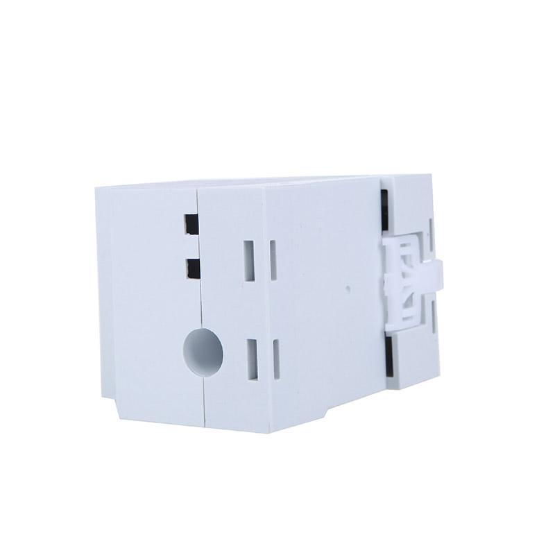 Digital Din-Rail LED Voltage Ammeter Current Meter Voltmeter AC80-300V 0.2-99.9A Dual Display