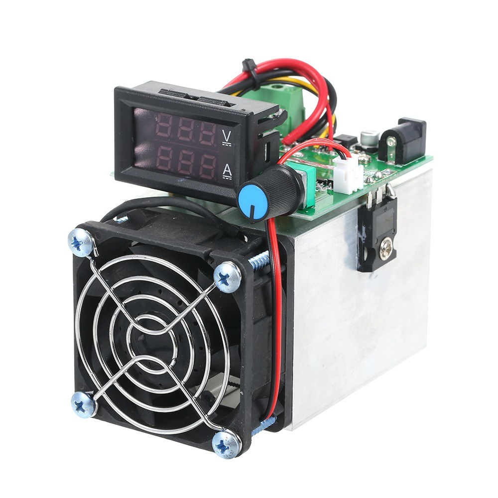 12V 100W Electronic Load Discharge Digital Battery Capacity Tester Testing Module DC