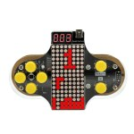 Upgraded Electronic DIY Game Console Kit V2 Soldering Practice Kit with Open Source