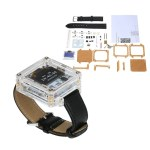 SCM Awesome Wristwatch DIY Kit Transparent LED Watch DIY LED Digital Tube Wristwatch Electronic Watch DIY Kit