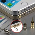 Dustproof Anti Dust Plug 3.5mm Earphone Jack Sim Card Needle for Mobile Phone