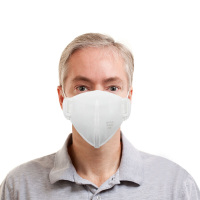 1pcs Anti-fog Headband FFP2 Round Mask Dust Protection N95 Mask