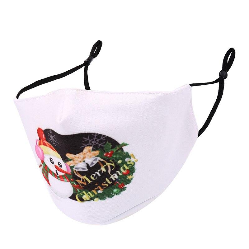 可重复使用的圣诞节口罩