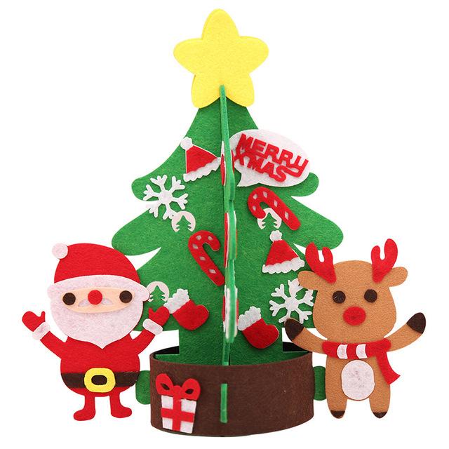 毛毡圣诞树-圣诞老人款