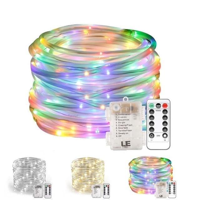 10米圣诞灯管-彩色RGB