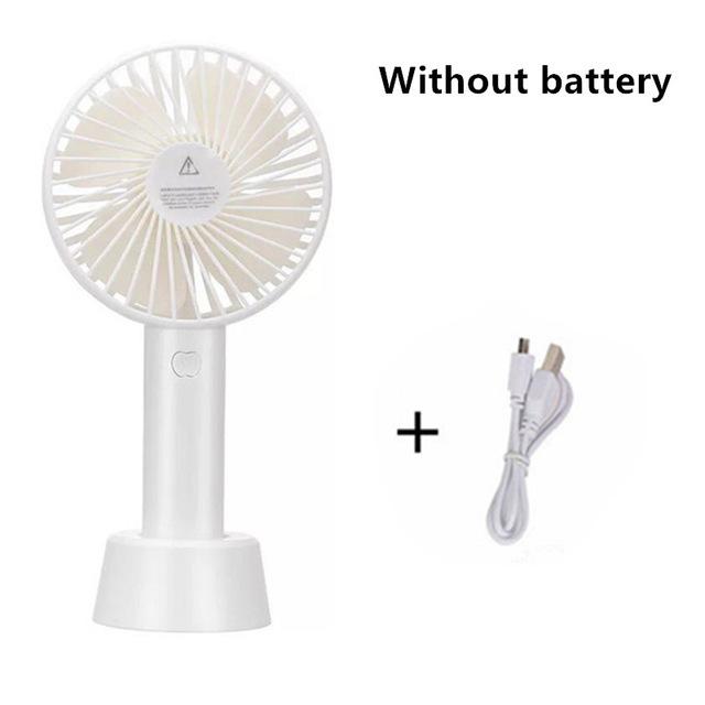 手持便捷充电风扇(1200毫安)无挂绳K-F083