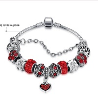 Exquisite Fashion Bracelet DIY 3 Colors Love Heart Bracelet Ladies Fashion Bracelet