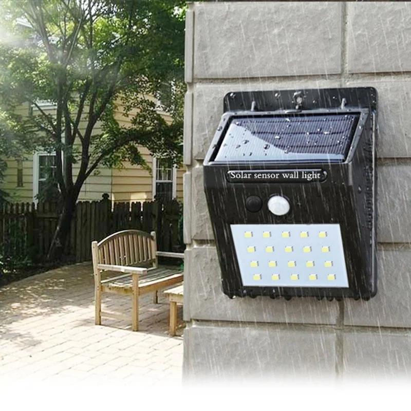 LED太阳能自动感应灯K-K45