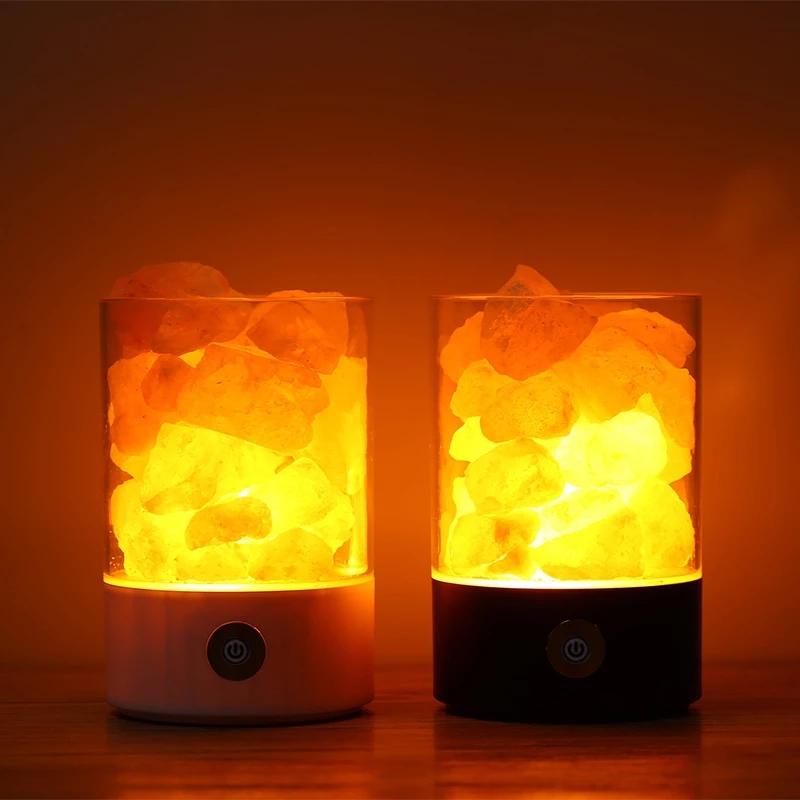 水晶盐灯(圆)K-L15